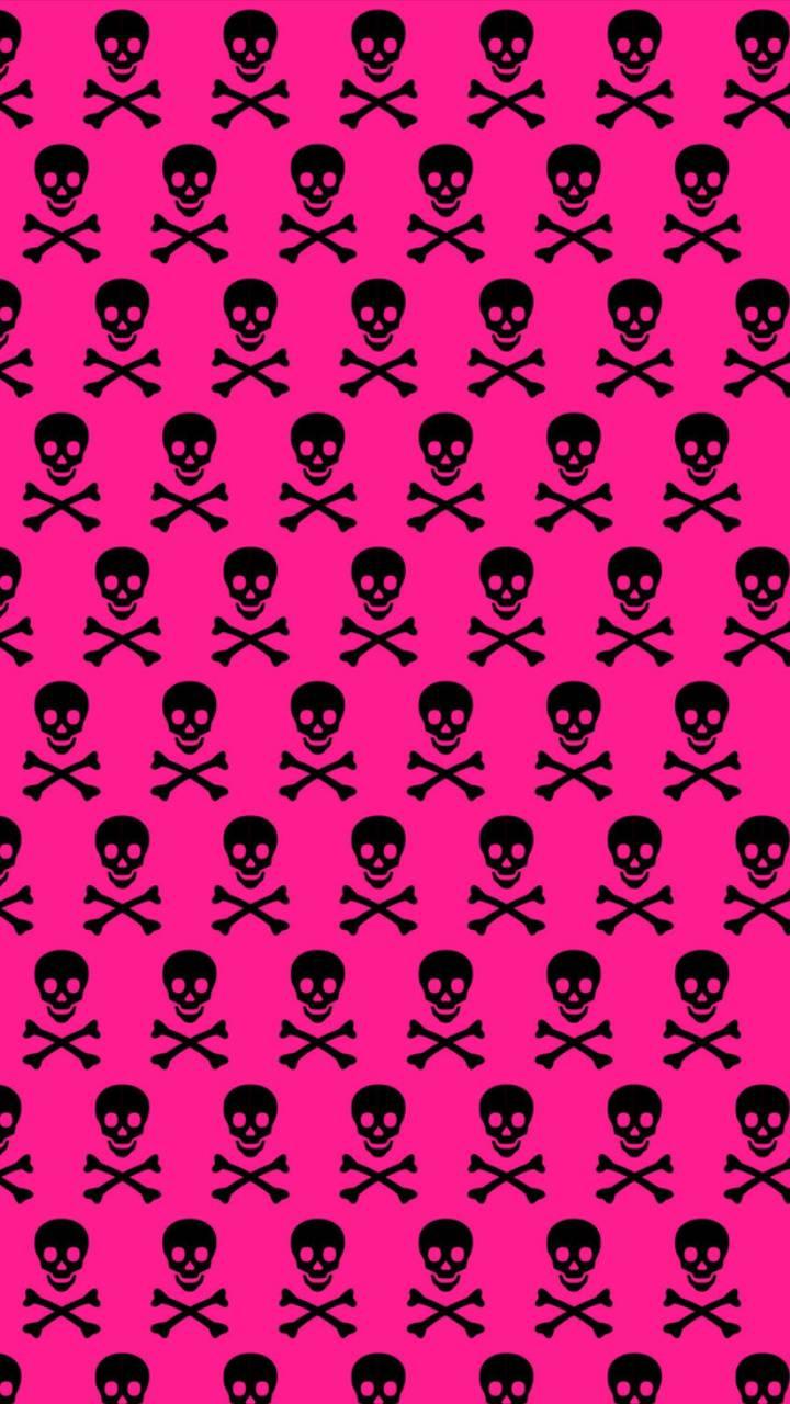 Pink Skullbones