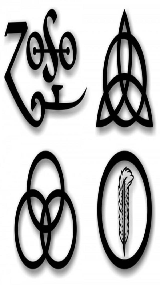 Led Zeppelin Symbols Wallpaper By Kevmiste54 99 Free On Zedge