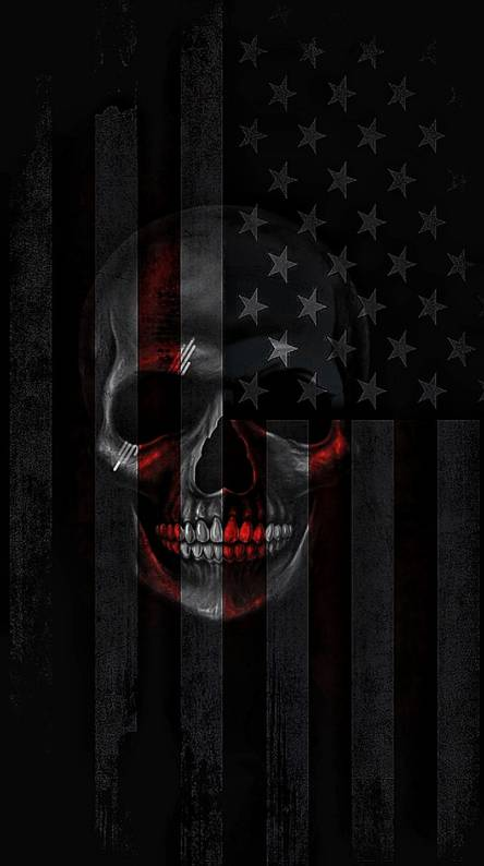 American Skull Wallpapers Free By Zedge