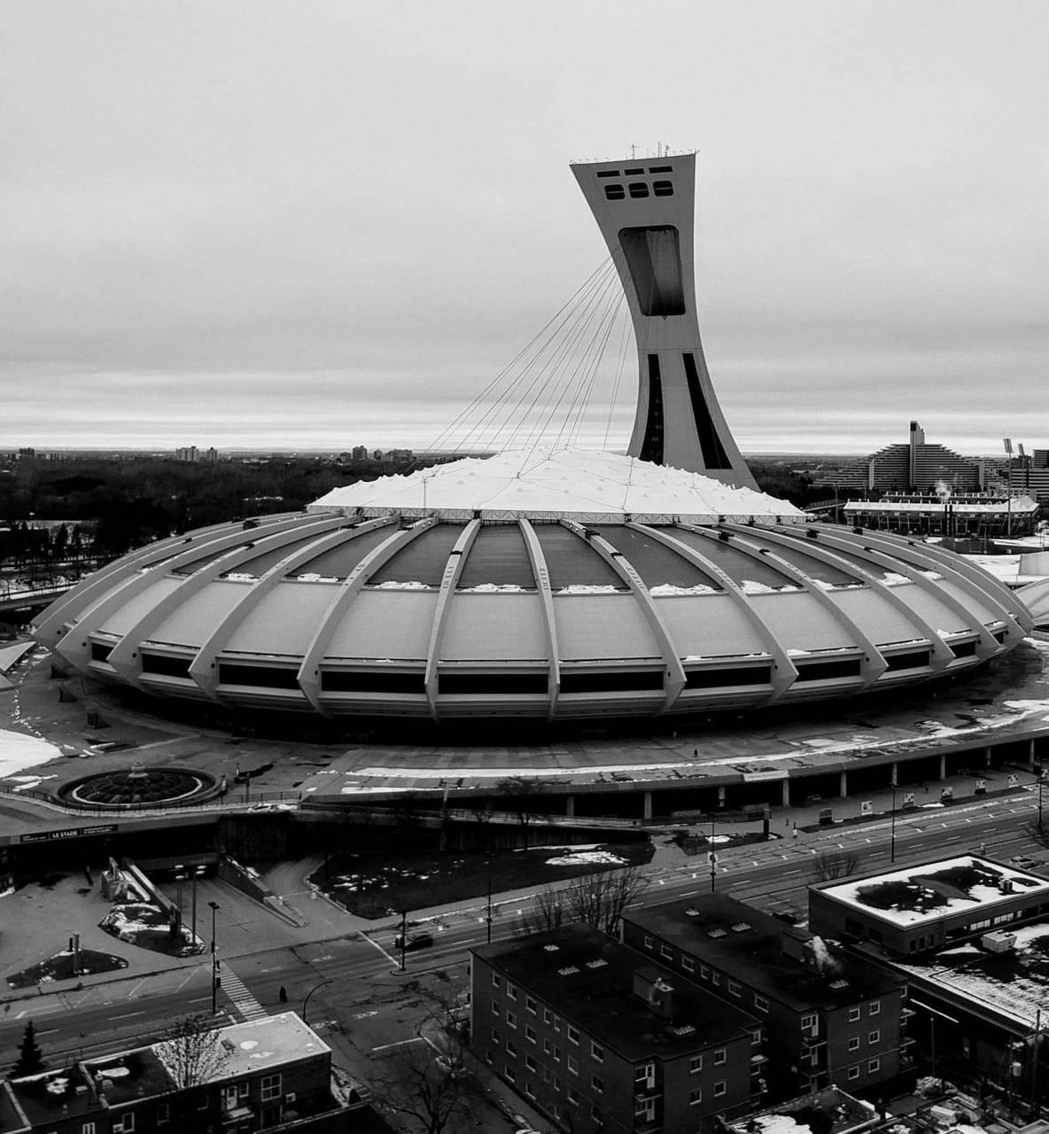 Olympic stadium Mtl