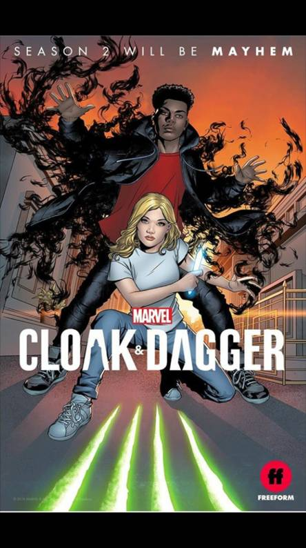 Cloak Dagger Ringtones And Wallpapers Free By Zedge