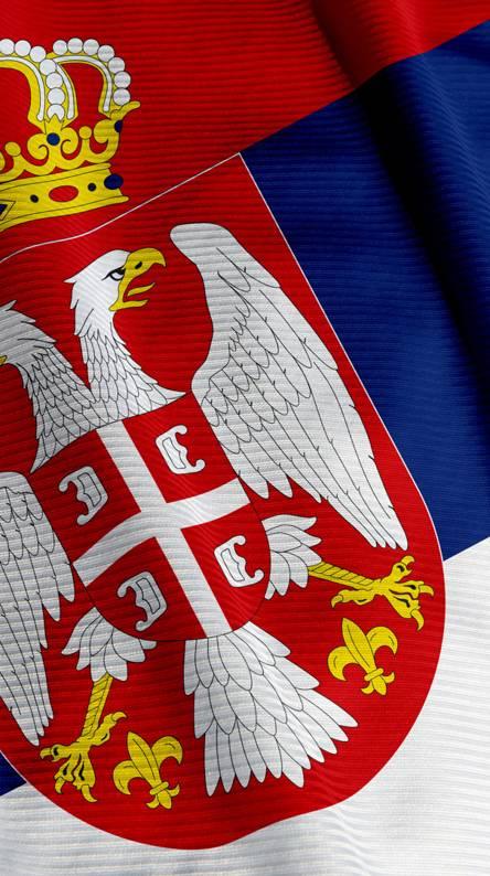 Serbia Srbija Flag