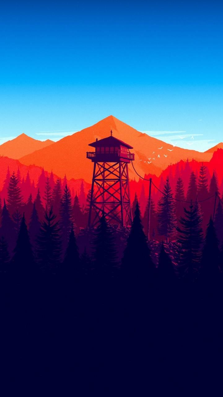 Firewatch Forest