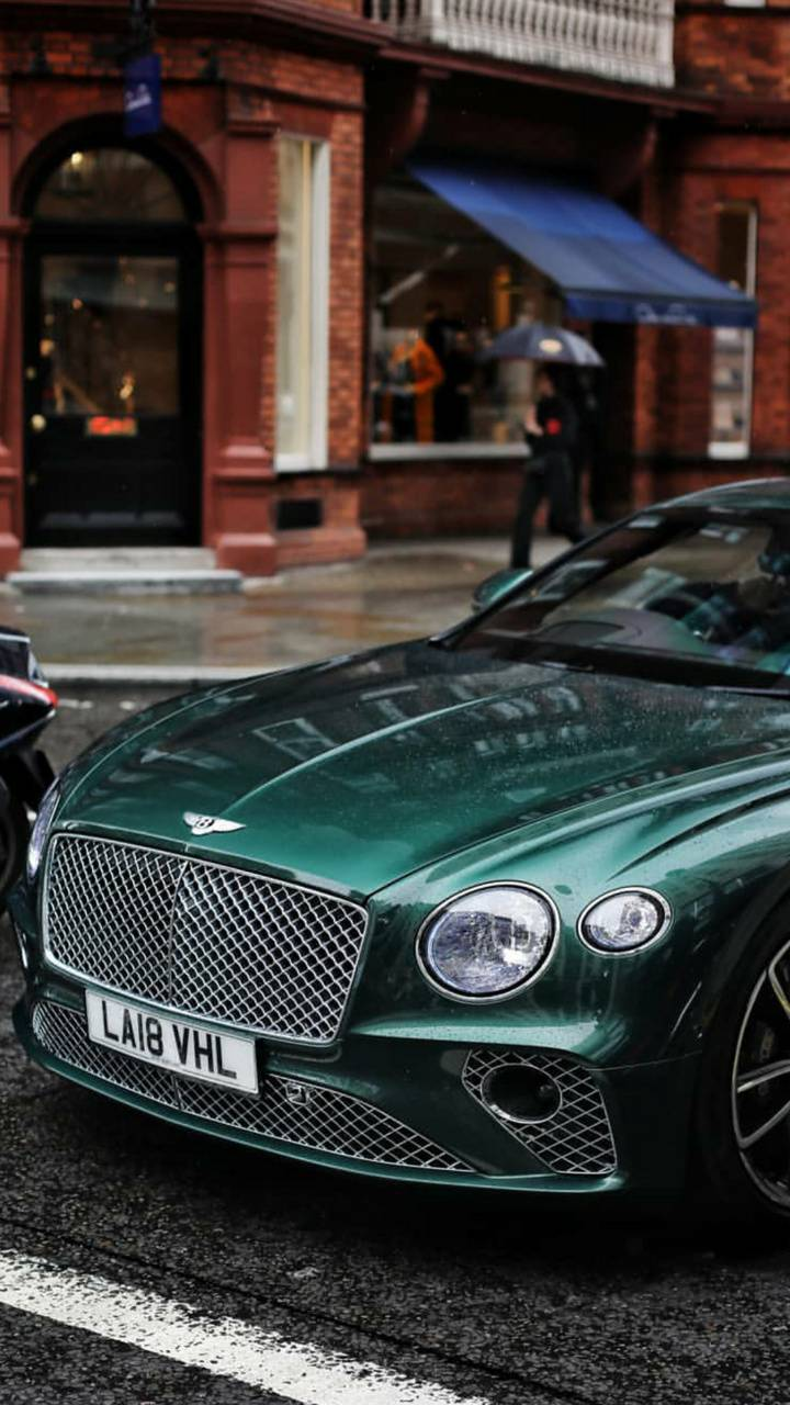 BritishGreen Bentley