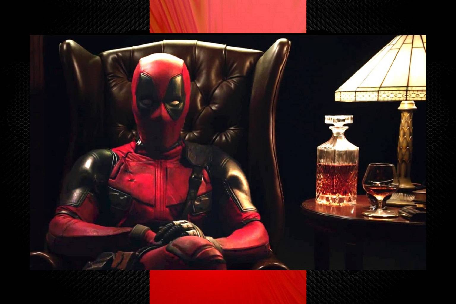 Deadpool Relaxing