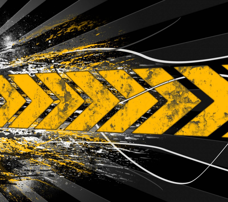 Abstract Road Art