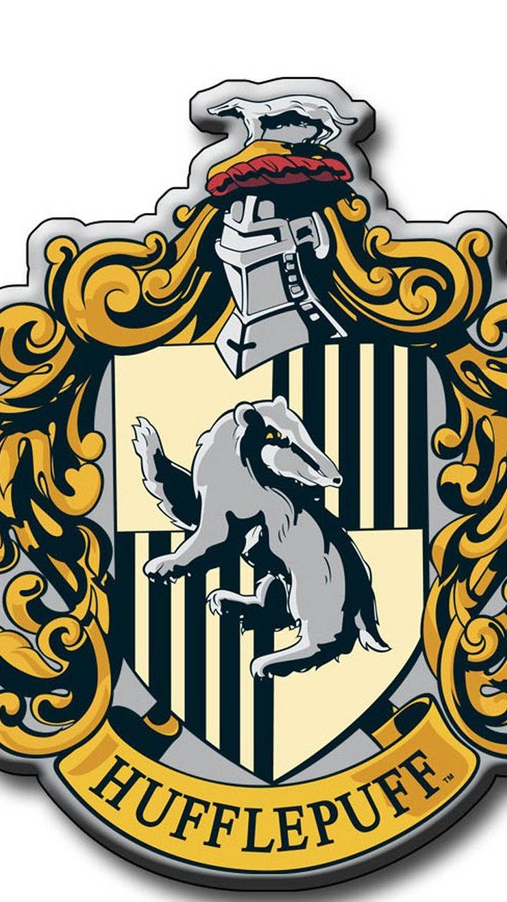Hufflepuff Crest Wallpaper By LadyLilly44
