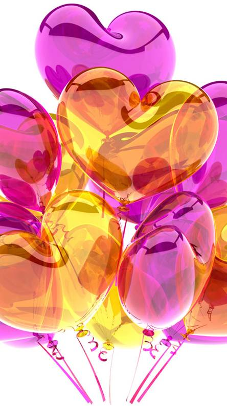 Purple Love Balloon