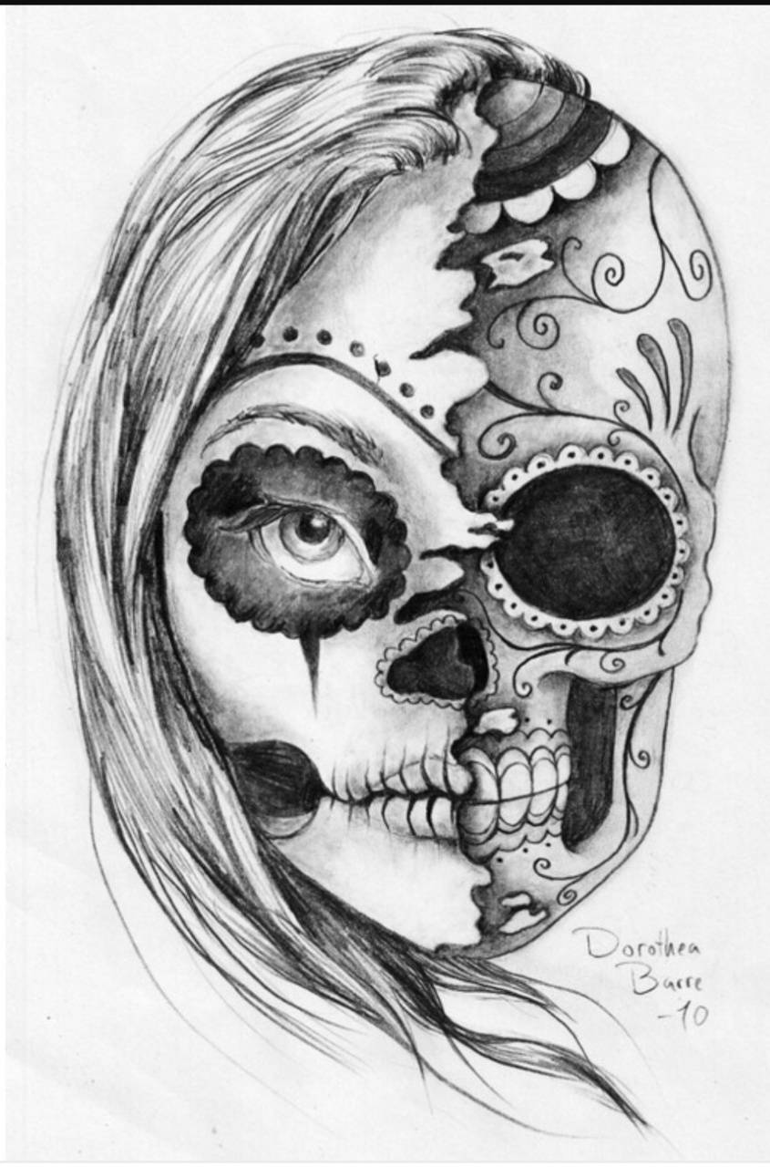 Lady Skull Wallpaper By Enigma Kid98 B0 Free On Zedge