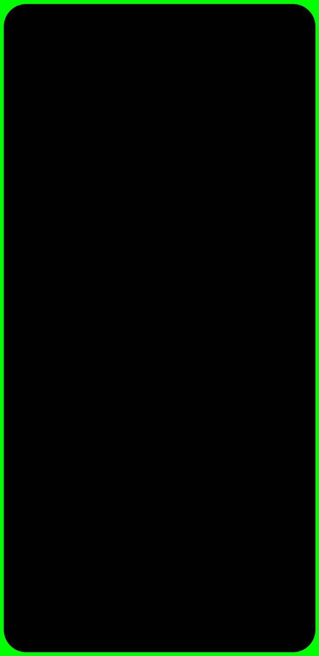 Edge Lighting Green