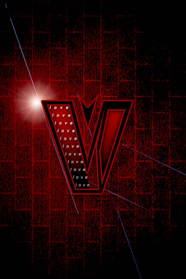V Love Wallpaper By Pingumi4