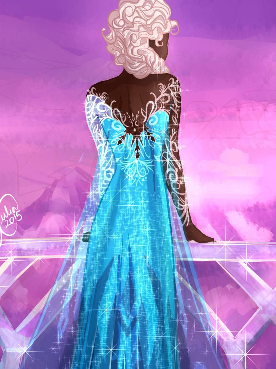 Frozen Black Elsa