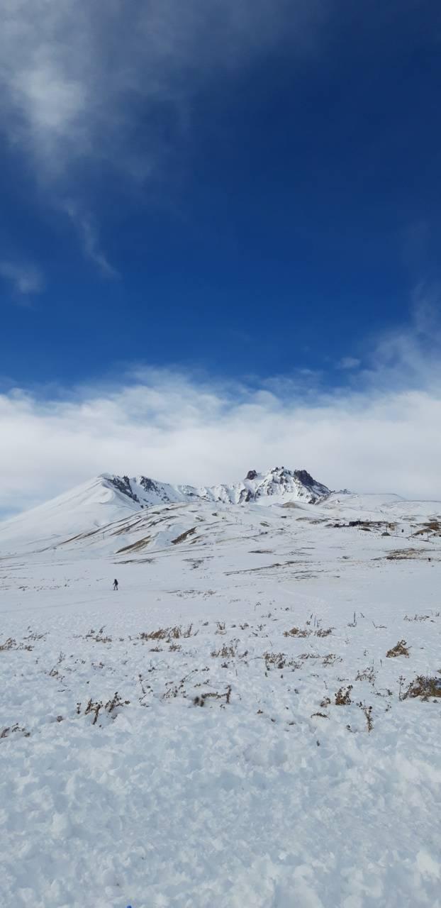 Winter in Erciyes