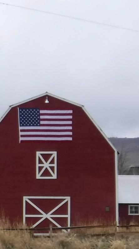 Red Barn Flag