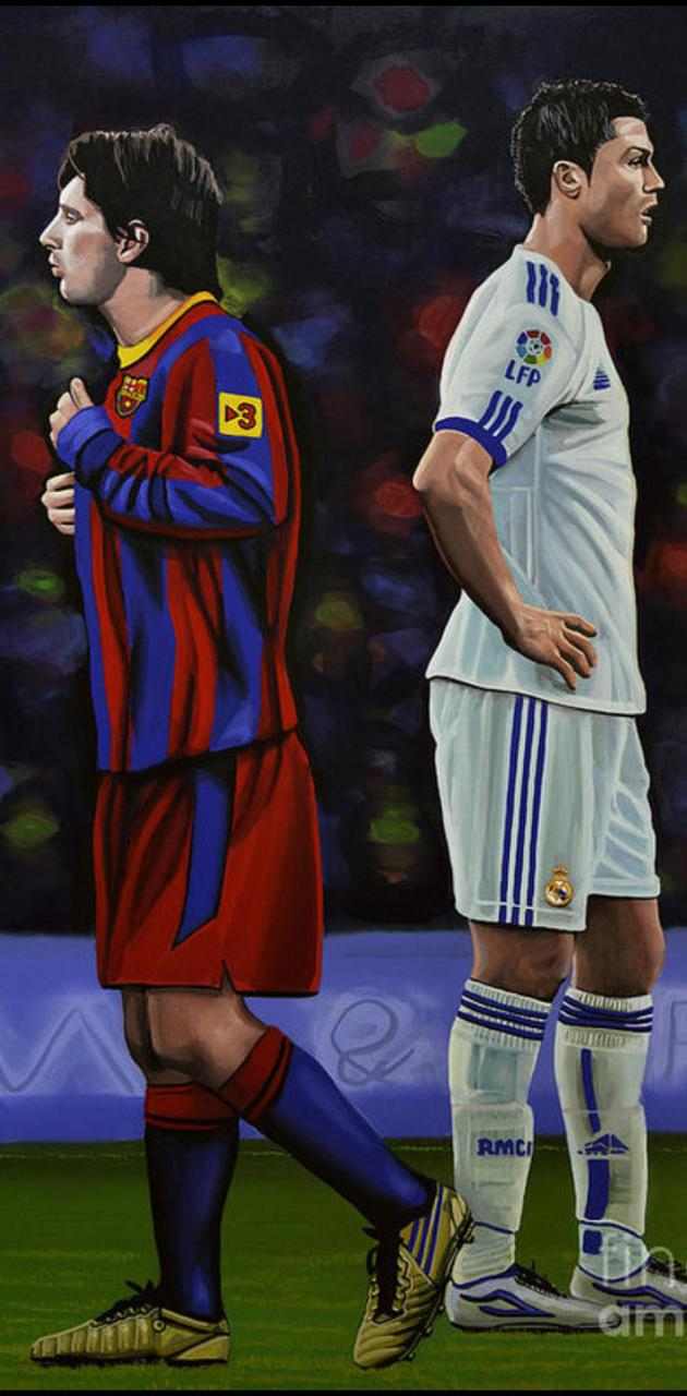Messy and Ronaldo