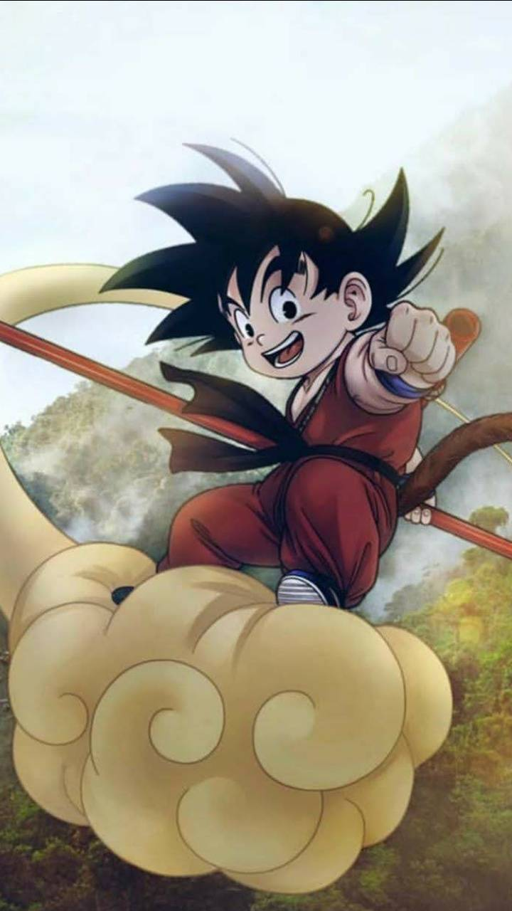 Kid Goku Cloud
