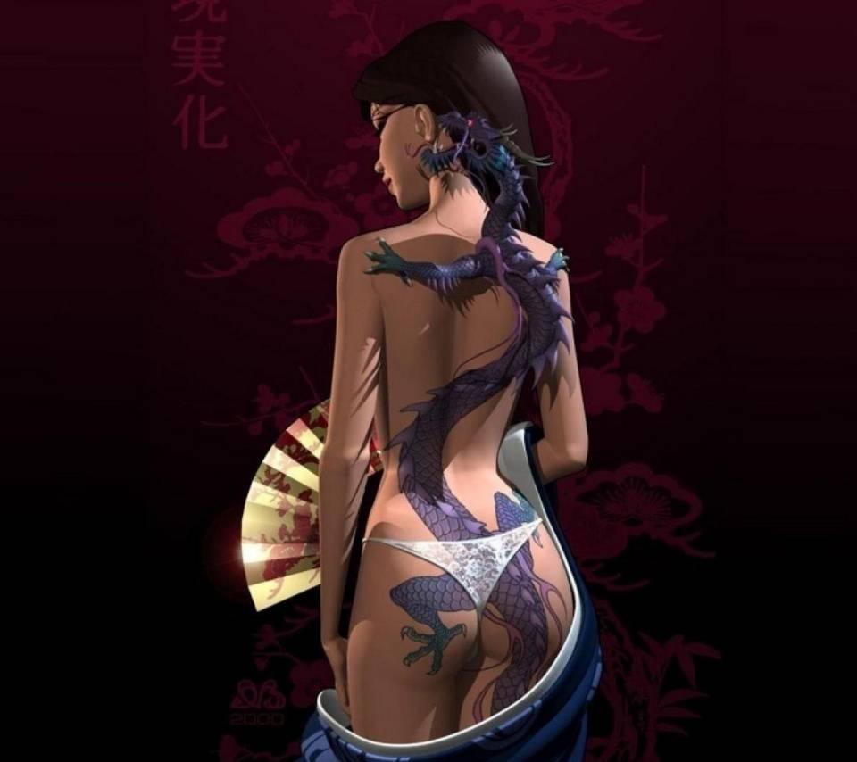 Tattoo Girl Wallpaper By Scorpionsunny 37 Free On Zedge