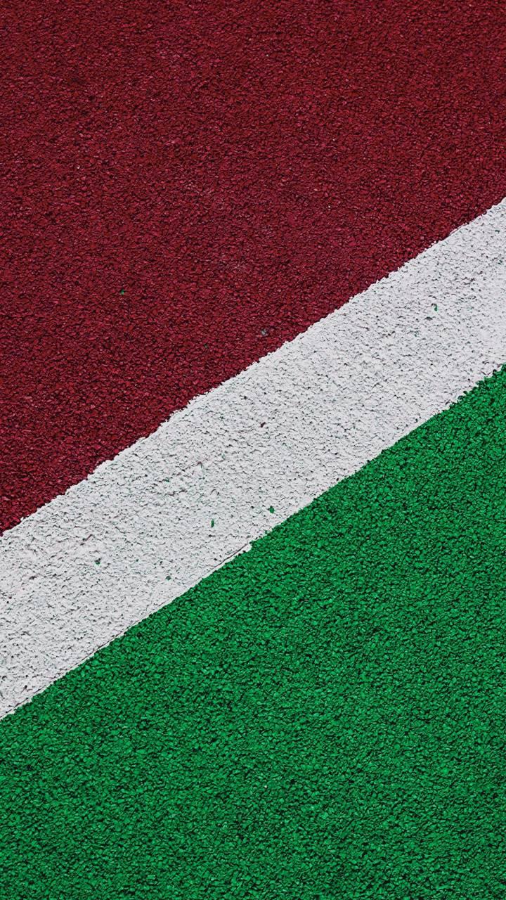 Colorful asphalt