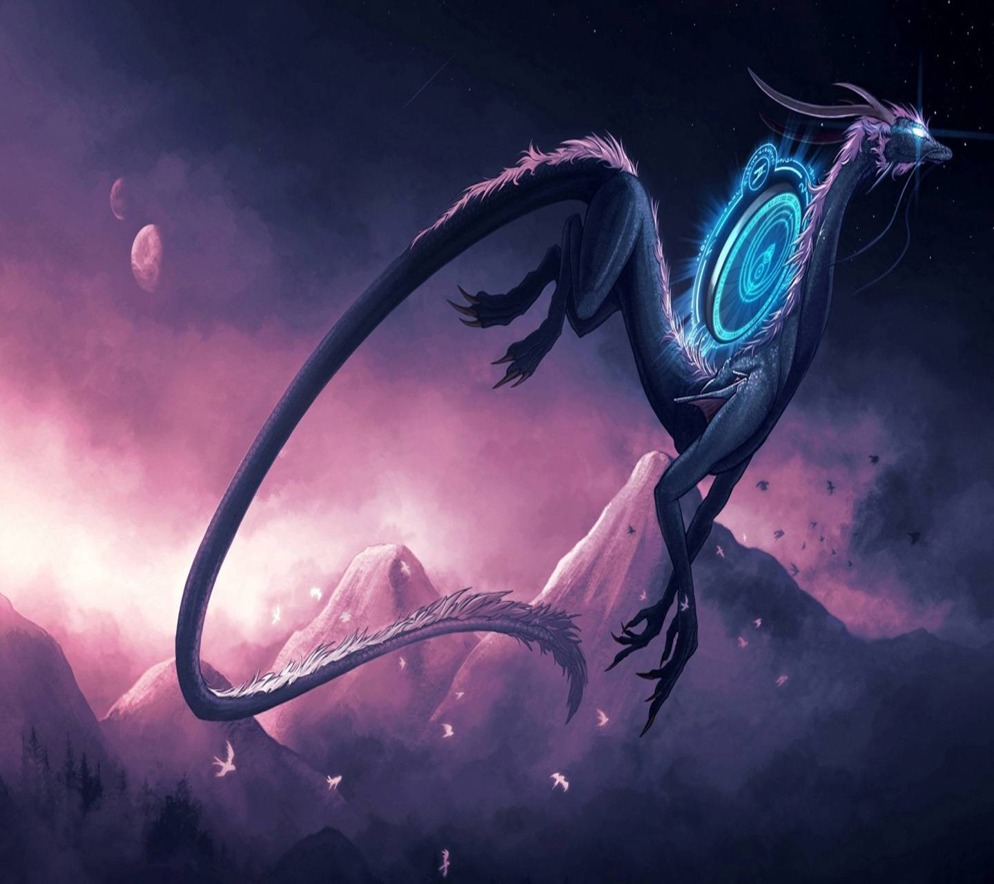 Anime Magic Dragon Wallpaper By Vincent1271 F6 Free On