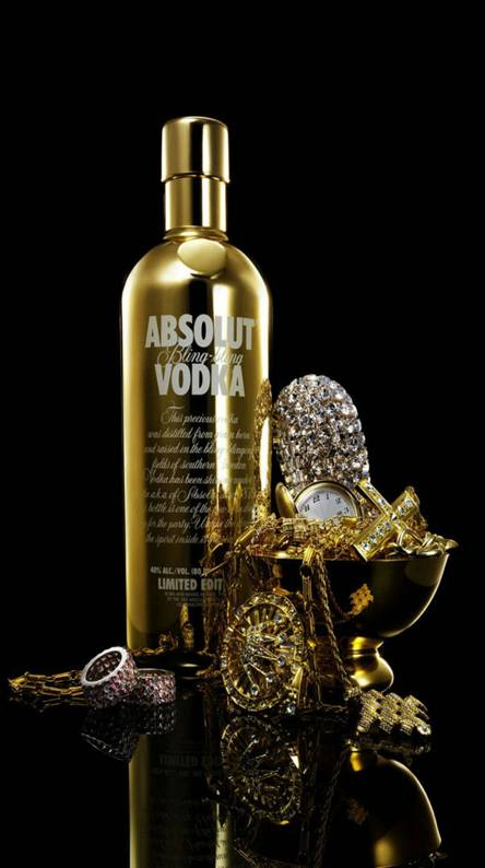 Glitter Bling Vodka