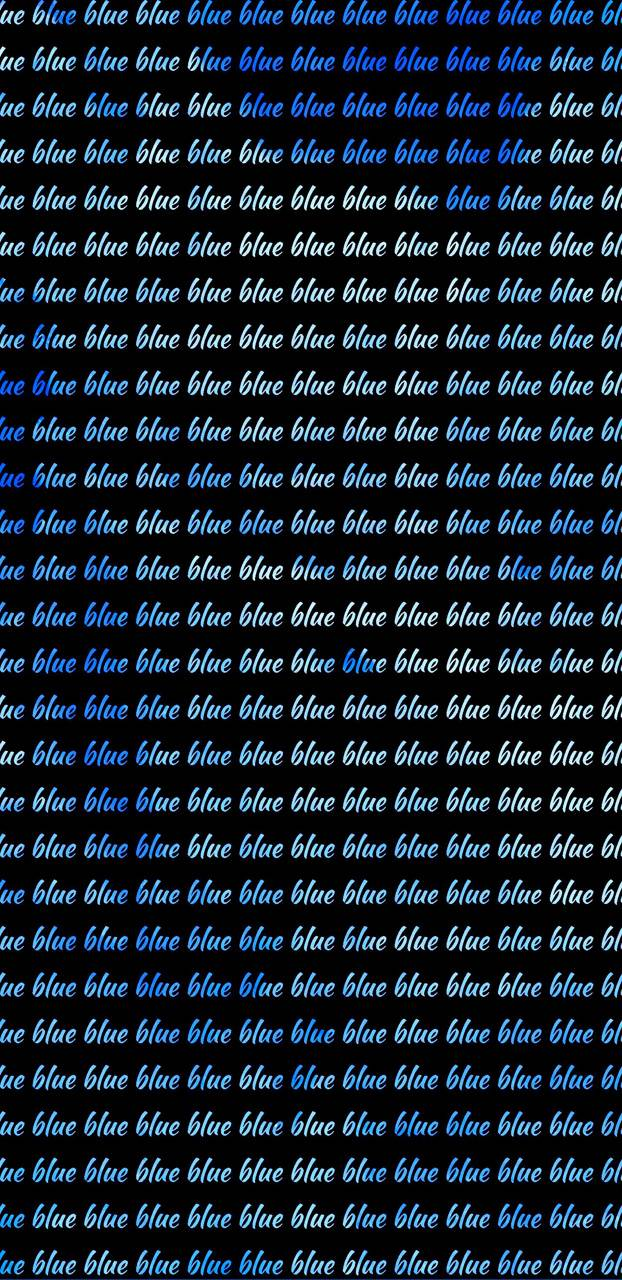 Repetitive Blue