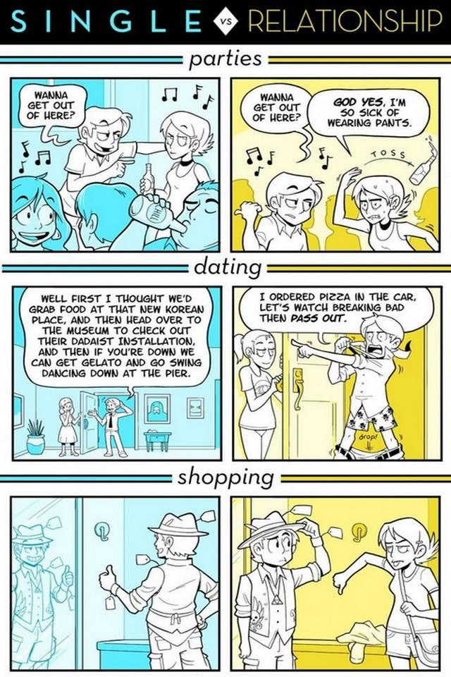 Dating vs single
