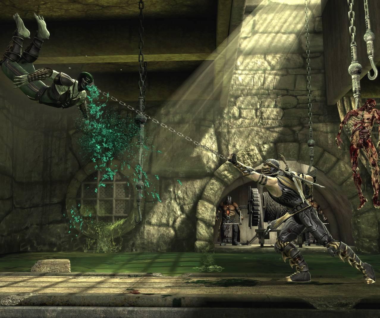 Scorpion vs Reptile
