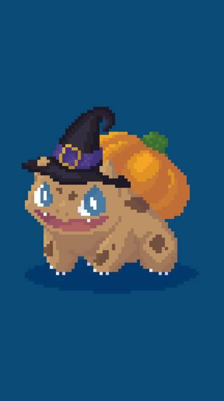 Pixel Fall Bulbasaur