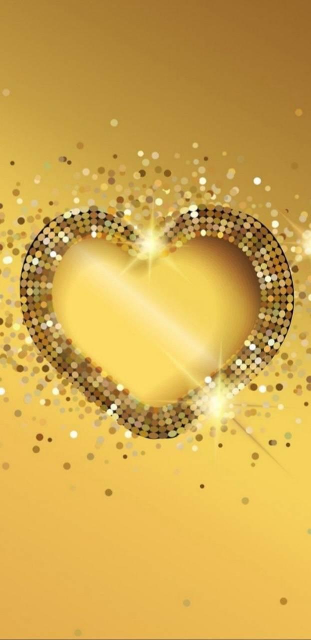 Glitzy Heart