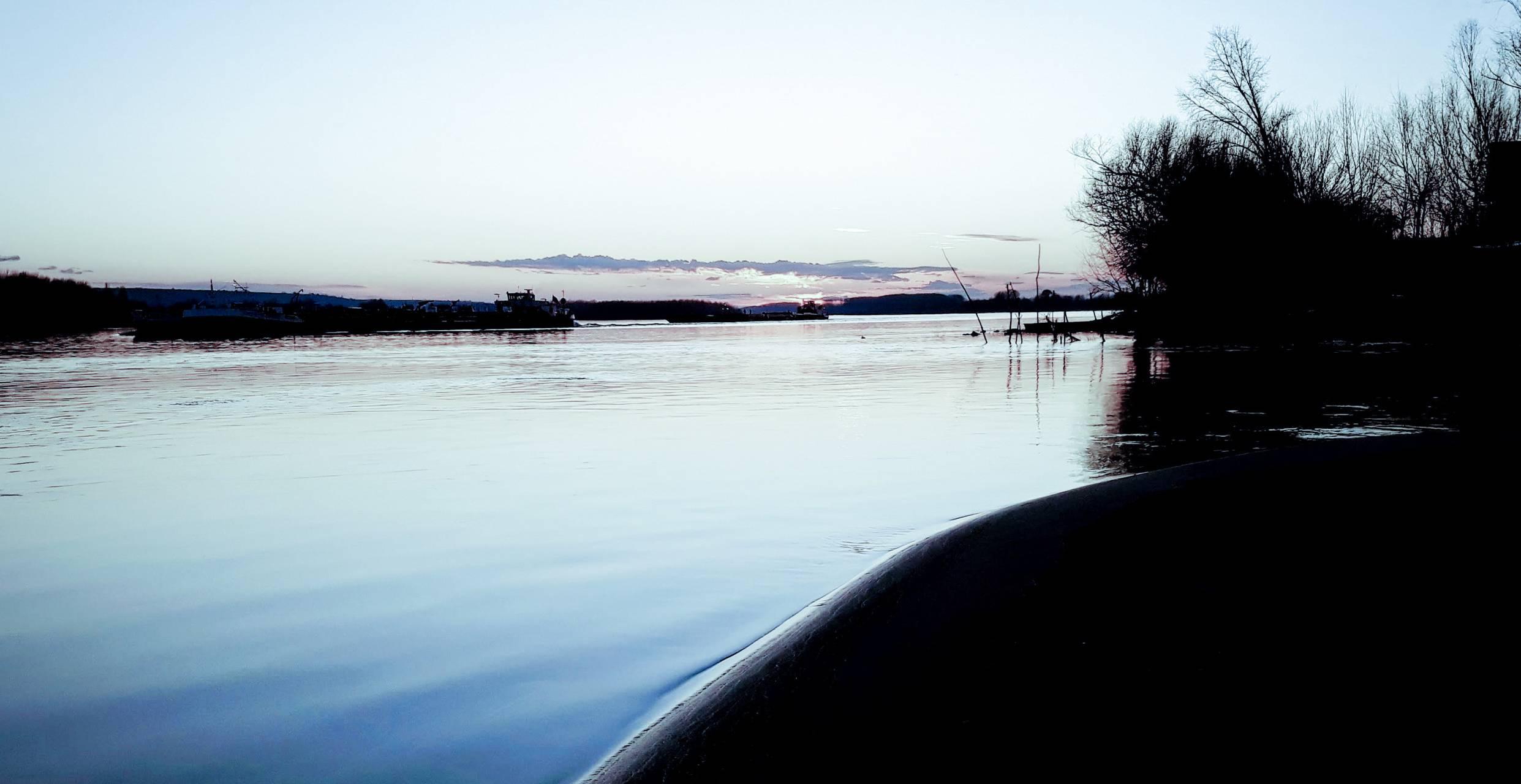 Dunav River Novi Sad