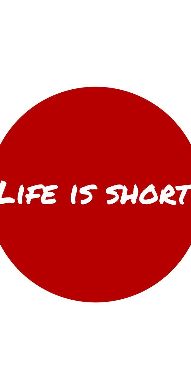 Life is short circle