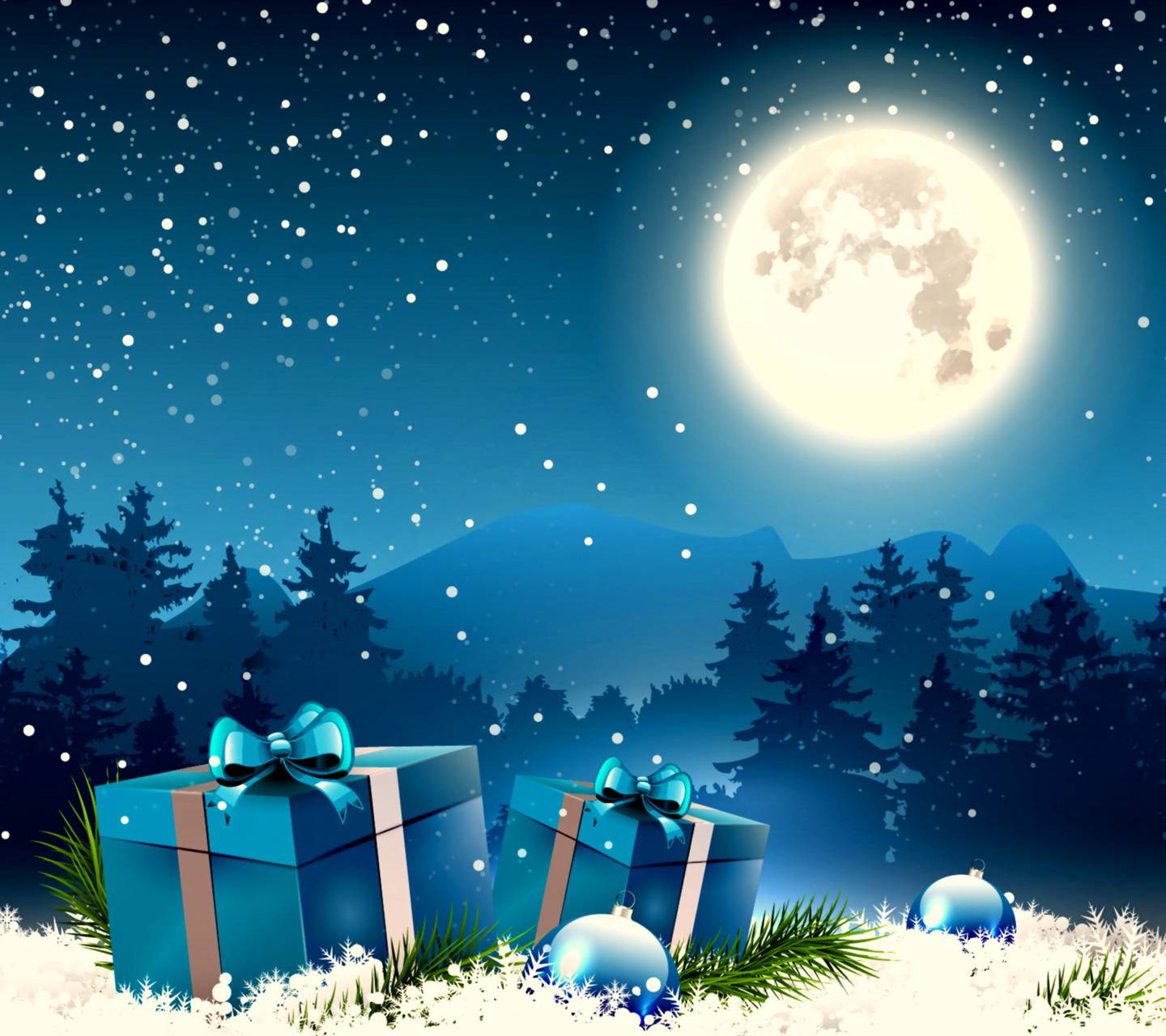 Christmas Night Hd