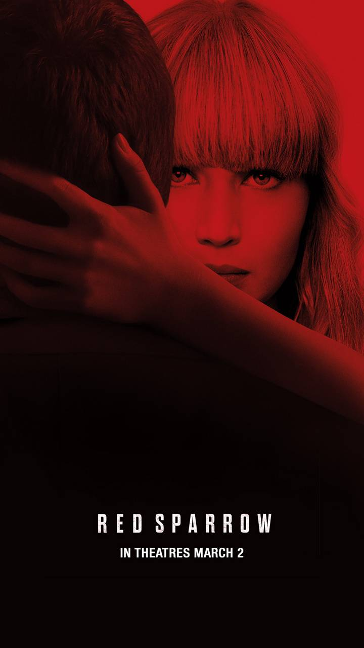 Red Sparrow Embrace