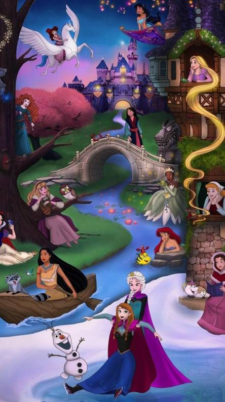 Disney Princess Wallpapers Free By Zedge