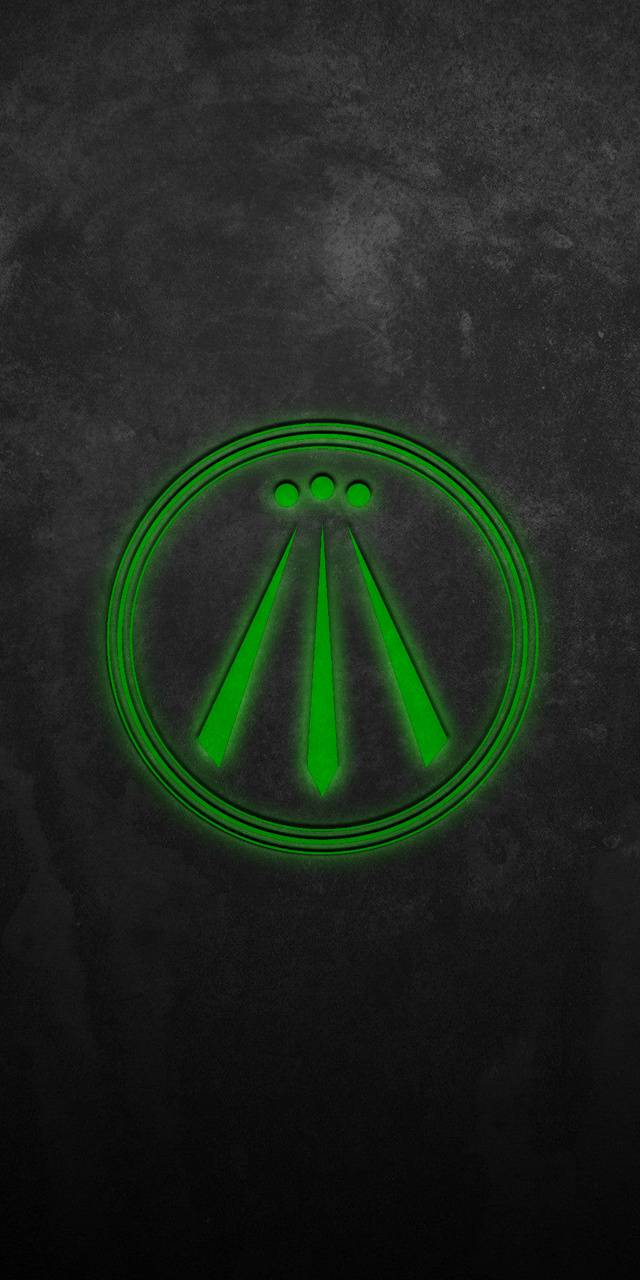 Awen Wallpaper Green