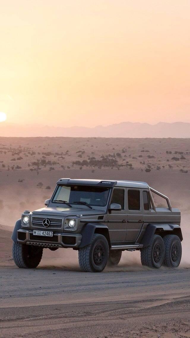 Mercedes G 6x6
