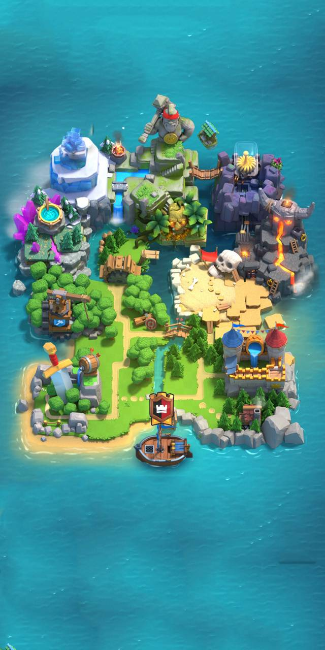 Clash Royale map