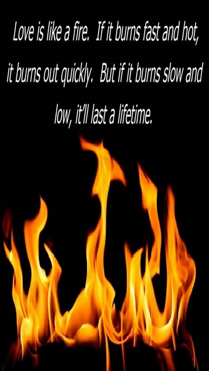 Love Is Like A Fire