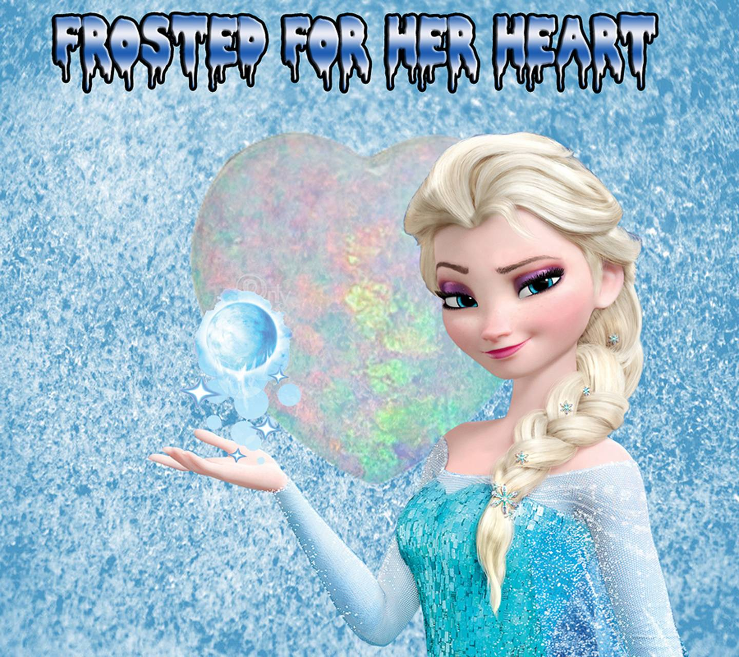 frosted elsa