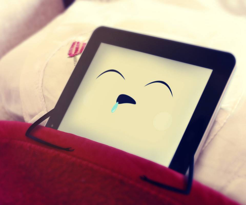 IPad is sleeping