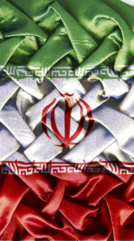 Iran for Bosnia flag