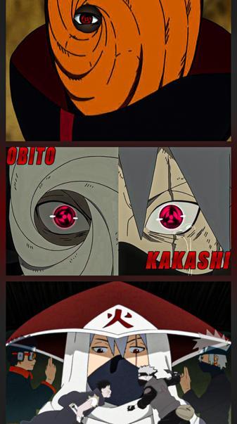 Kakashi and Obito