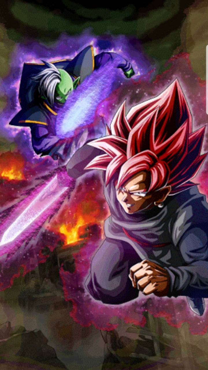 Black and Zamasu