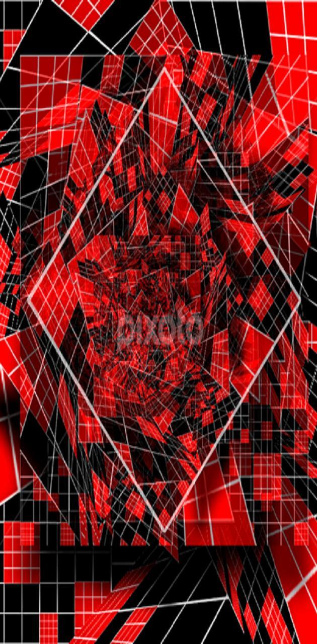red n black dia