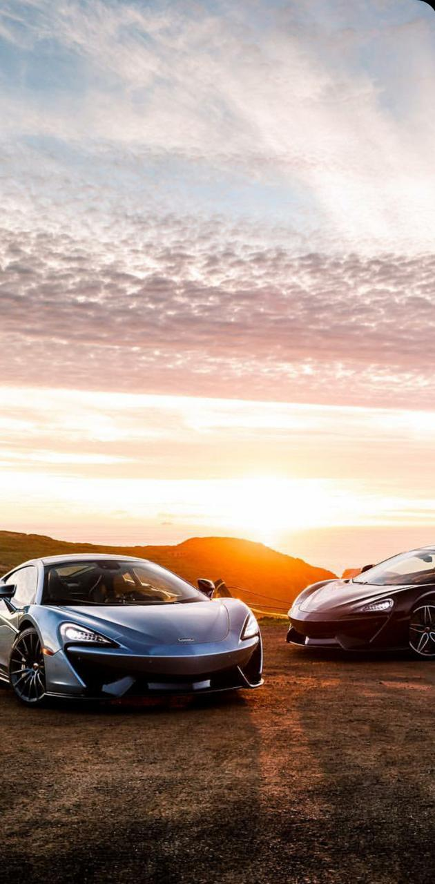 McLaren 570 twins