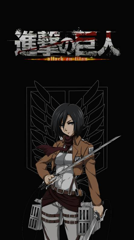 Attack On Titan Mikasa Ringtones And Wallpapers Free By Zedge