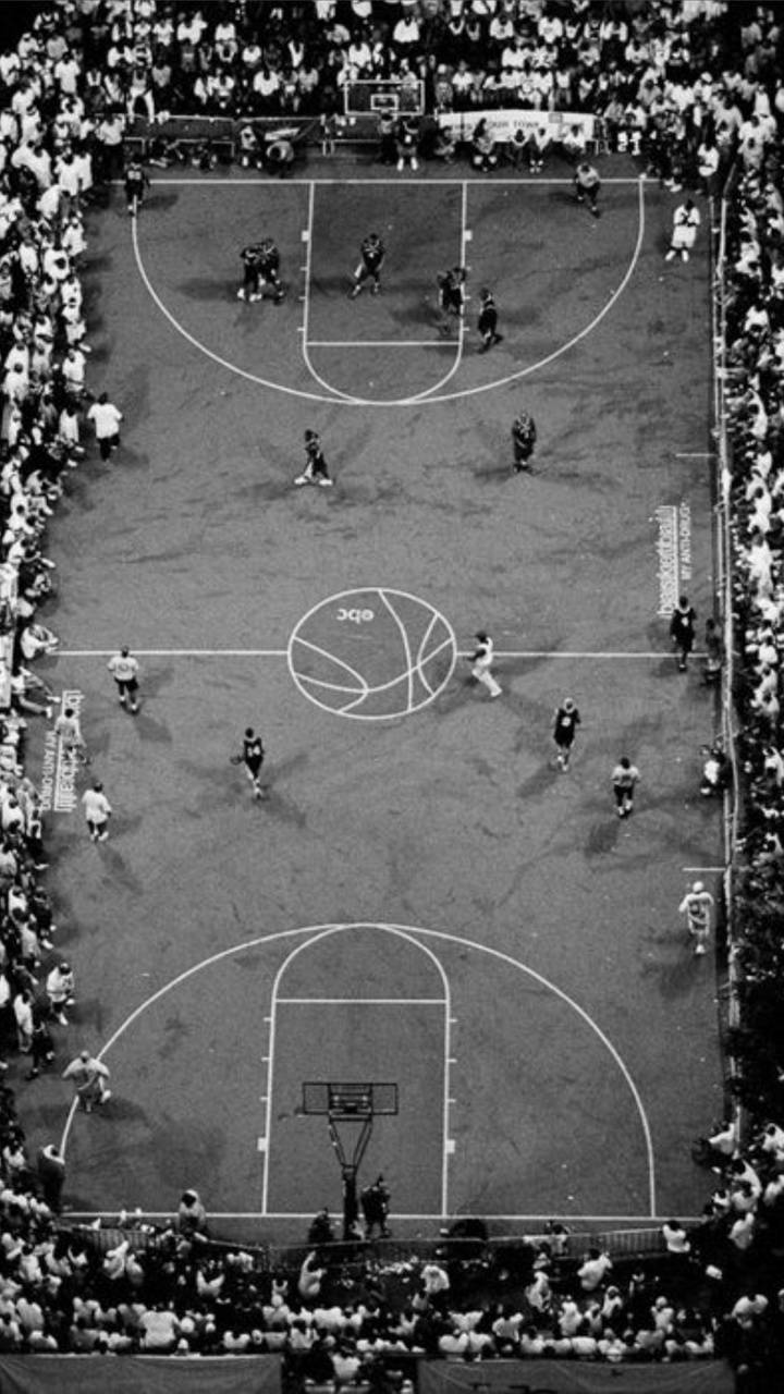 Basketball Court Wallpaper By Black0rwhite 91 Free On Zedge
