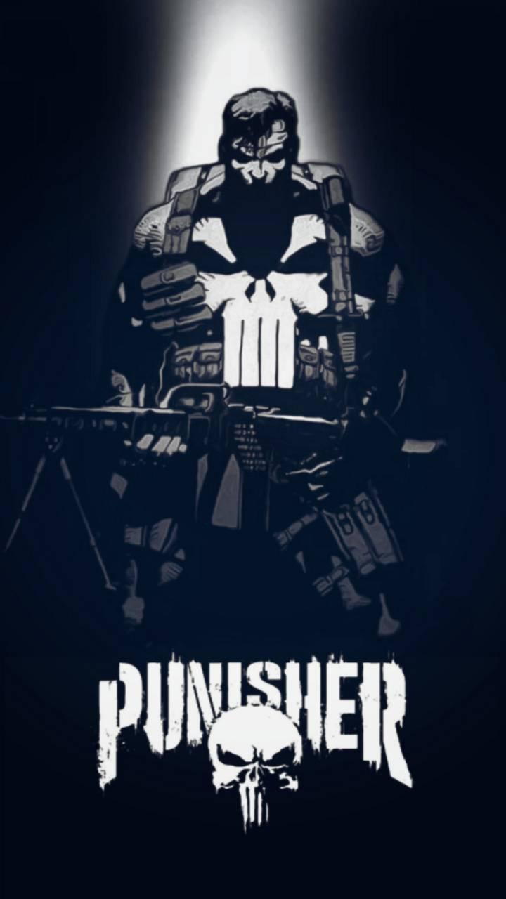 The Punisher Black