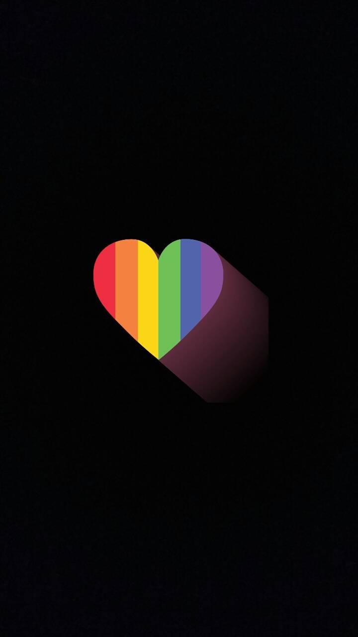 Rainbow Heart Wallpaper By Ariella53 72 Free On Zedge