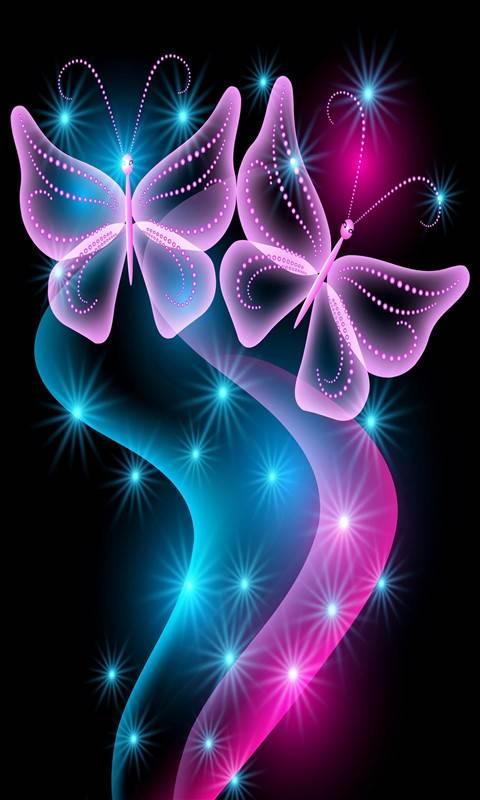 Neonlight Butterflie